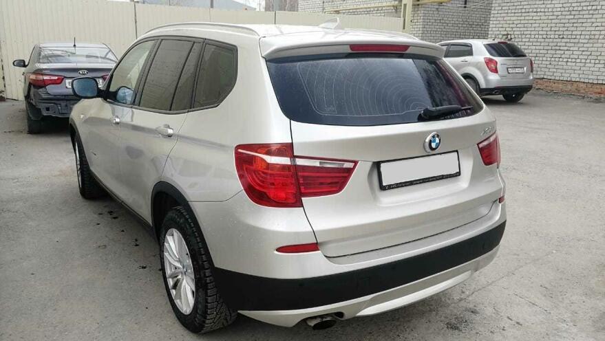 Фото полировки BMW