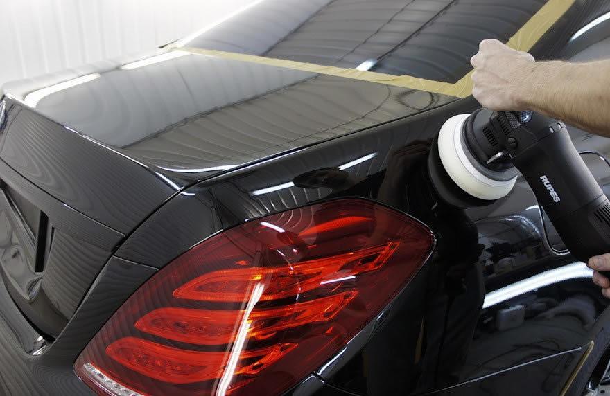 фото полировка авто