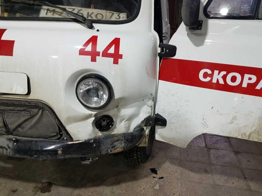 Фото скорой помощи до ремонта