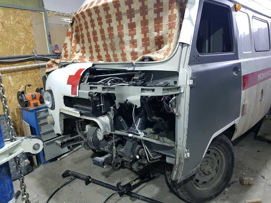 Фото процесса ремонта