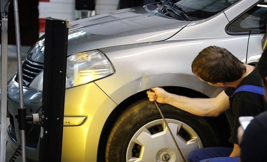 фото удаление дефектов на кузовке в Ульяновске